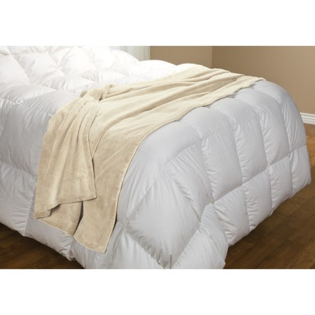 Barbara Barry Bellora Hospitality Pearlon Throw Blanket - 40x95""