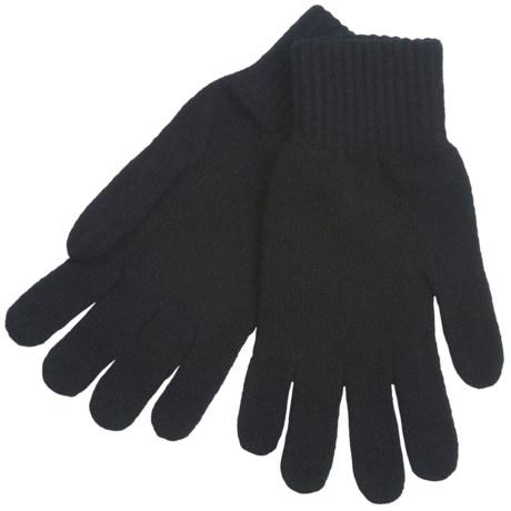 Johnstons of Elgin Lambswool Gloves (For Men and Women)