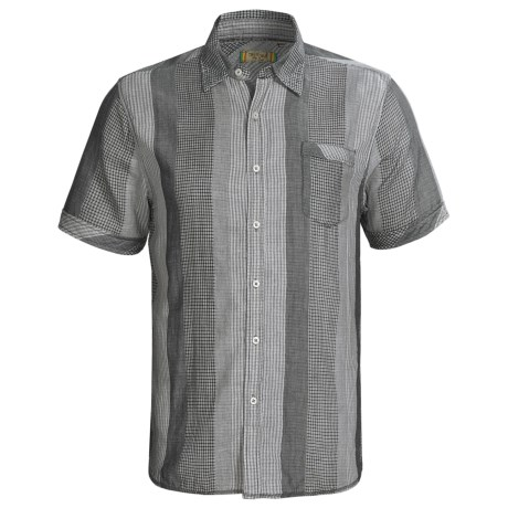 True Grit Vince Check Shirt - Short Sleeve (For Men)