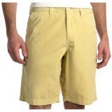 True Grit Canvas Chino Shorts - Stonewashed (For Men)