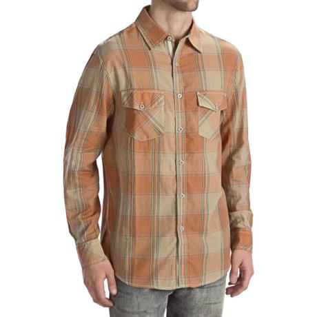 True Grit Fine Cotton Plaid Shirt - Long Sleeve (For Men)