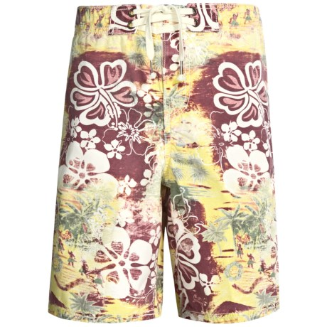 True Grit Mai Tai Poplin Boardshorts (For Men)