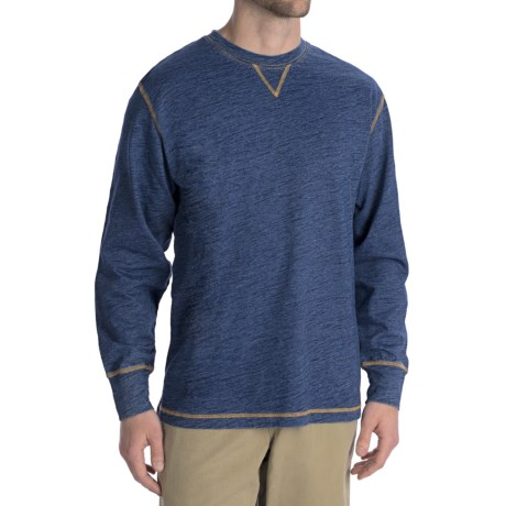 True Grit Slub Jersey T-Shirt - Crew Neck, Long Sleeve (For Men)