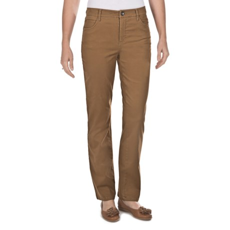 FDJ French Dressing Olivia Sueded Cotton Jeans - Straight Leg (For Women)