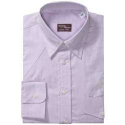 Specially made Western Shirt - Hidden Button-Down Collar, Long Sleeve (For Men)