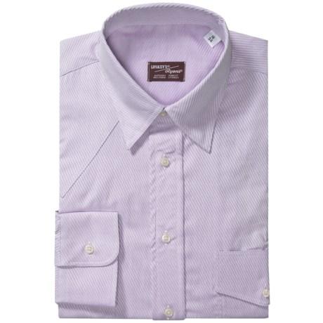 Western Shirt - Hidden Button-Down Collar, Long Sleeve (For Men)