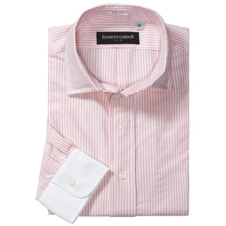Kenneth Gordon Stripe Sport Shirt - Slim Fit, Long Sleeve (For Men)
