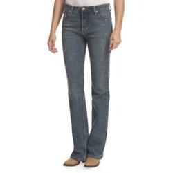 Lawman Spirit Bootcut Jeans - Mid Rise, Slim Fit (For Women)