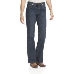 Lawman Faith Bootcut Jeans - Mid Rise, Slim Fit (For Women)
