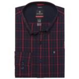 Victorinox Vals Windowpane Shirt - Long Sleeve (For Men)