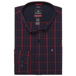 Victorinox Vals Windowpane Shirt - Long Sleeve (For Men)