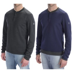 Victorinox Swiss Army Castel Reversible Henley Shirt - Long Sleeve (For Men)