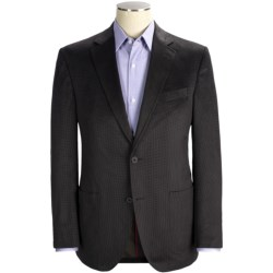 Riviera Red Panama Houndstooth Sport Coat - Modern Fit (For Men)