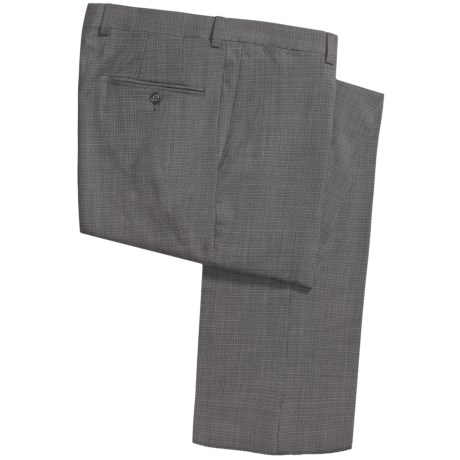 Riviera Armando Wool Neat Pants - Flat Front (For Men)