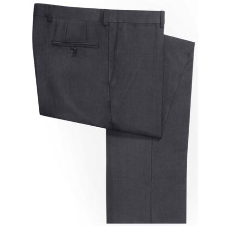Riviera Armando Wool Mini-Check Pants - Flat Front (For Men)