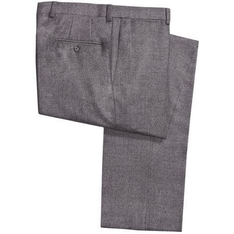 Riviera Armando Neat Dress Pants - Wool Flannel (For Men)