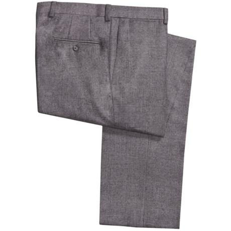 Riviera Armando Neat Dress Pants - Wool Flannel (For Men)