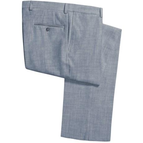 Jack Victor Shantung Weave Pants (For Men)