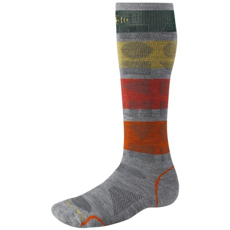 SmartWool Park-Play Plus Record Ski Socks - Merino Wool, Over-the-Calf, Midweight (For Women)