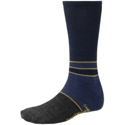 SmartWool Color-Block Denim Socks - Merino Wool, Crew, Lightweight (For Men)