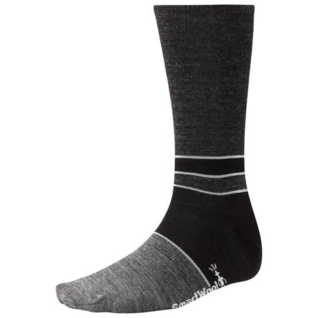 SmartWool Color-Block Denim Socks - Merino Wool, Crew, Lightweight (For Men)