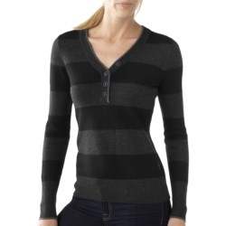 SmartWool Maroon Bells Henley Sweater - Merino Wool (For Women)