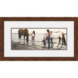 "Hadley House Framed ""Connections"" Print by Steve Hanks - Limited Edition, 19x35"""
