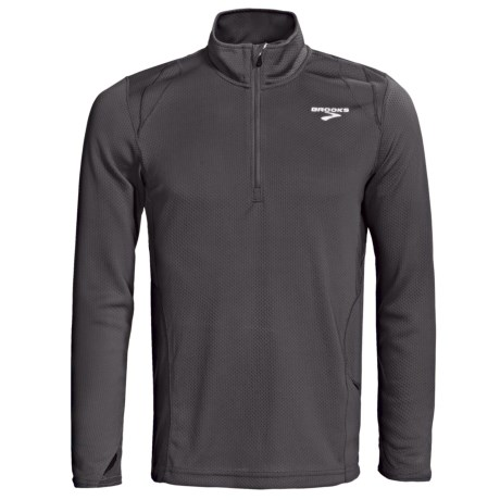 Brooks Podium II Pullover - Zip Neck, Midweight, Long Sleeve (For Men)