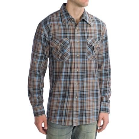 Pendleton Fitted Kingston Shirt - Cotton Twill, Long Sleeve (For Men)