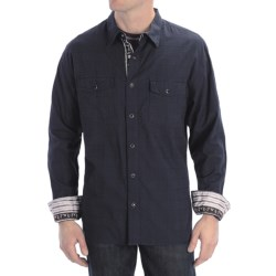 Scully Signature Tonal Check Shirt - Snap Front, Long Sleeve (For Men)