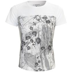 Brooks HVAC Synergy Shirt - UPF 40+, Short Sleeve (For Women)
