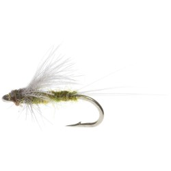Idylwilde Flies CDC Dun Dry Fly - Dozen