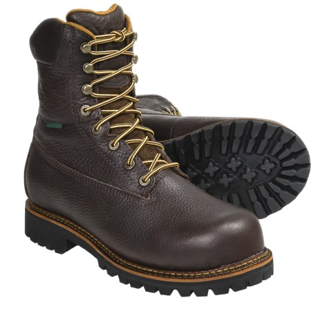 Georgia Boot Chieftain Work Boots - Steel Toe, Waterproof, Insulated (For Men)