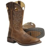Rocky Welted Leather Cowboy Boots - Square Toe (For Men)