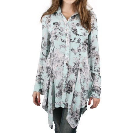 Ethyl Tunic Shirt - Long Sleeve (For Women)