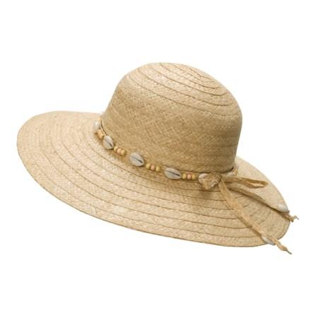 Panama Jack Floppy Straw Hat (For Women)