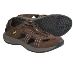 Teva Churnium Leather Sport Sandals (For Men)