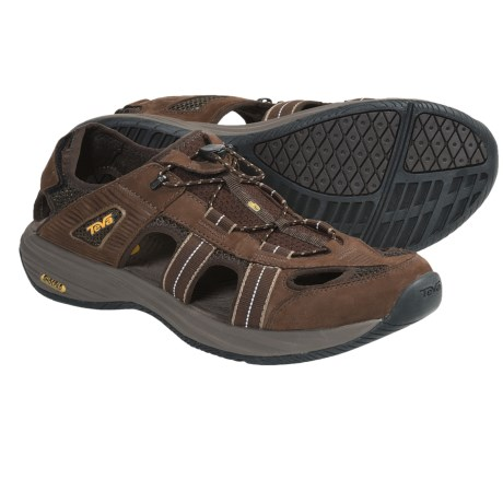 Teva Churnium Leather Sport Sandals (For Men)