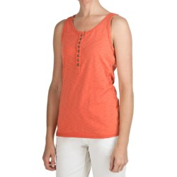 True Grit Baja Trim Tank Top - Cotton Slub (For Women)