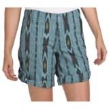 True Grit Ikat Shorts - Roll Bottom (For Women)