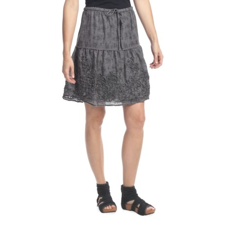 True Grit Toile Print Skirt (For Women)