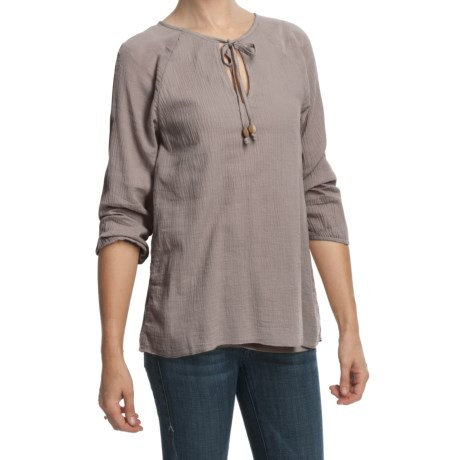True Grit Cody Peasant Shirt - 3/4 Sleeve (For Women)