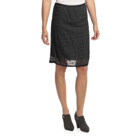 True Grit Chloe Cotton Lace Skirt (For Women)