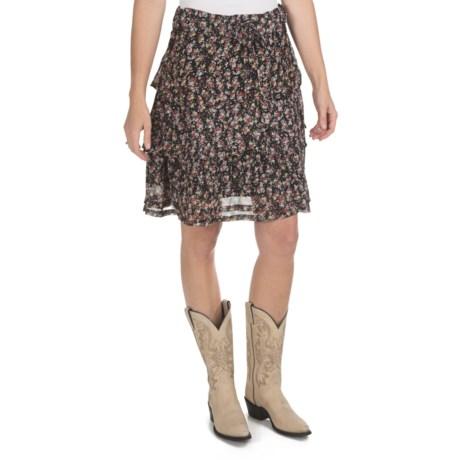 True Grit Chiffon Ruffle Skirt (For Women)