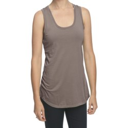 True Grit 40's Cotton Jersey Racer Tank Top (For Women)