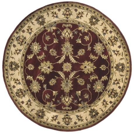 """Kaleen Secret Garden Fine Wool Round Rug - 5'9"""""""