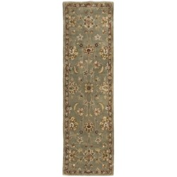 "Kaleen Queens Garden Fine Wool Floor Runner - 2'3""x7'9"""