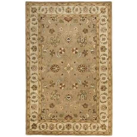 Kaleen Queens Garden Fine Wool Area Rug - 5x8'