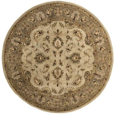 """Kaleen Imperial Garden Fine Wool Round Area Rug - 5'9"""""""
