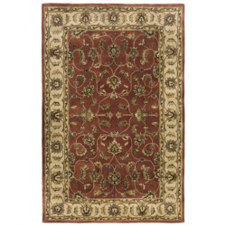 "Kaleen Cornflower Fine Wool Area Rug - 5'x7'9"""